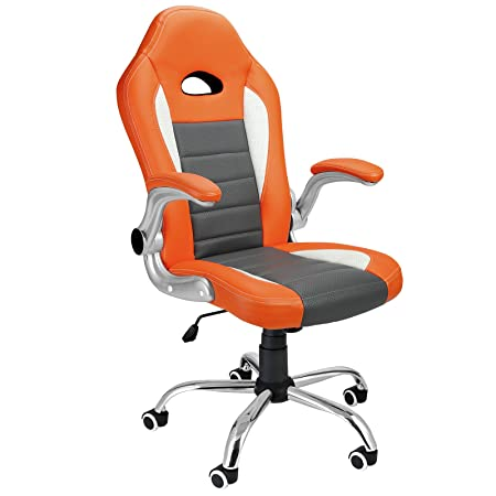 Superior Deuba® Office Chair Racing Design✓ Gaming✓ Gamers Computer Desk Chair✓ PU  Leather