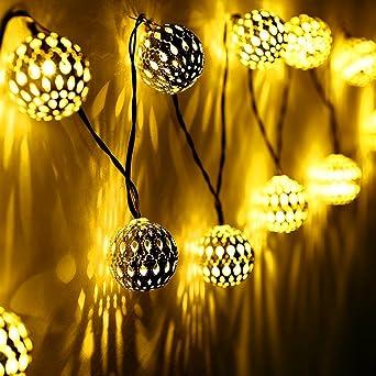5 Solar Garten Sunjas Leuchte 3 Meter20 4 10 LichterkettenLampe Für Mit Weihnachtsbeleuchtung DesignInnen Marokko Ball Leds Meter Outdoor 8 hBQxCtrds