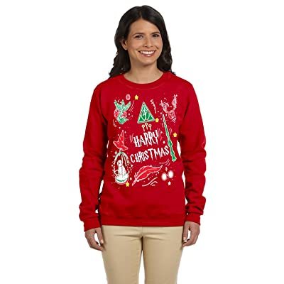 12.99 Prime Tees Womens Harry Christmas Potter Plus Size Ugly Christmas Sweater