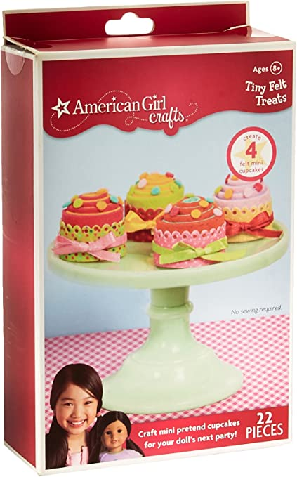 2-Pack American Girl Crafts Felt Pencil Toppers Sewing Kit 69pc