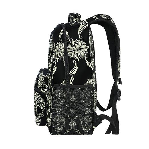 Amazon.com: ZZKKO - Mochilas de estilo vintage con estampado ...