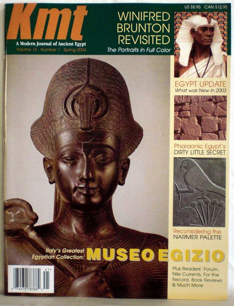 Download KMT - A Modern Journal of Ancient Egypt, Vol. 15 No. 1, Spring 2004. pdf