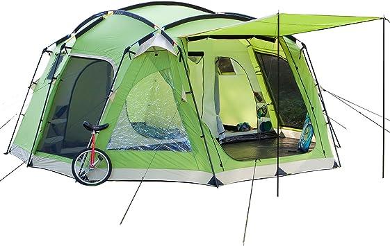 Skandika Copenhagen 8 -Tienda de campaña para 8 personas, color verde - 520 x 470 cm: skandika: Amazon.es: Deportes y aire libre