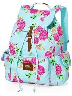 Amazon.com : Victoria's Secret PINK Backpack - color: Navy Floral ...