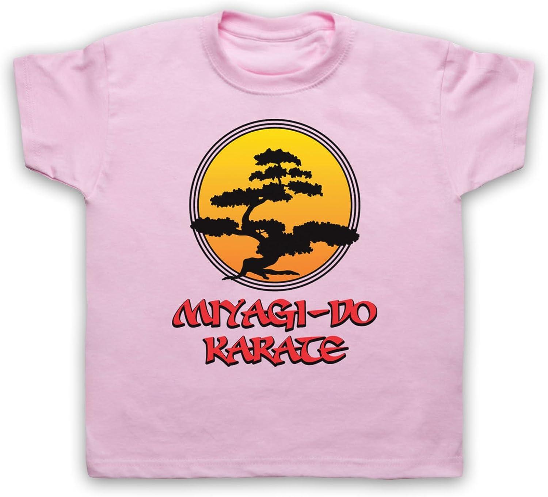 Inspirado por Karate Kid Miyagi Do Logo Bonsai Tree No Oficial Camiseta para Niños