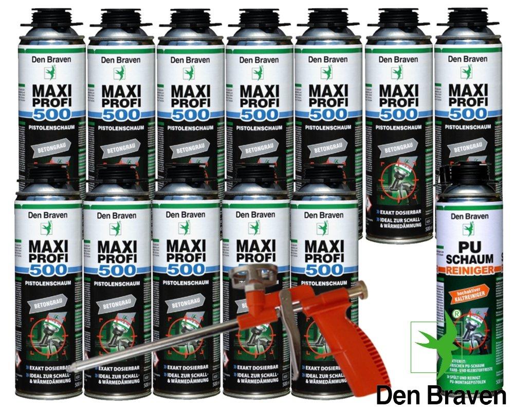 Den Braven Set profesional 12 x Maxi profesional 1 KB2 de ...