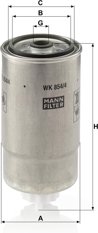 Original Mann Filter Kraftstofffilter Wk 854 4 Für Pkw Auto