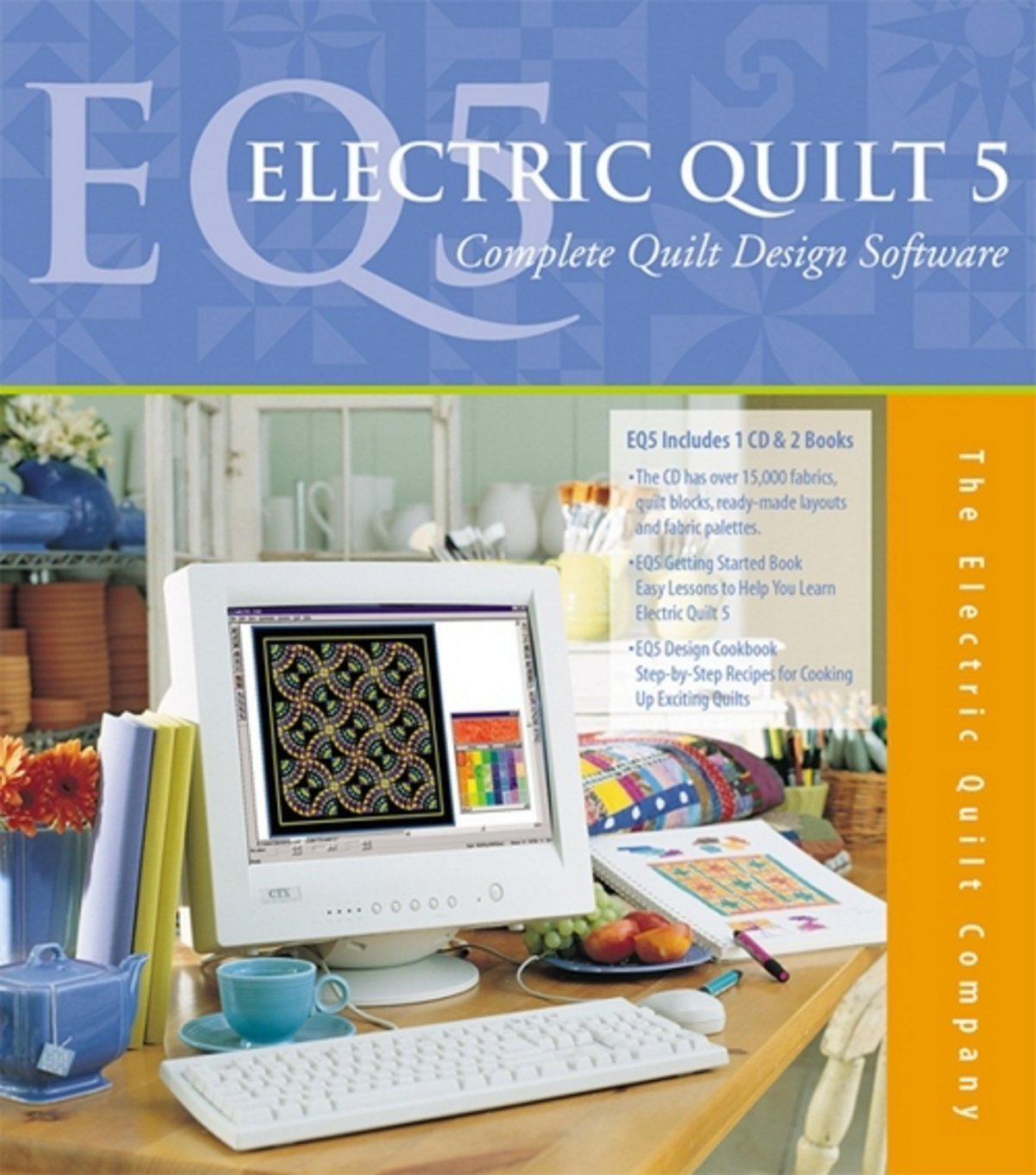 Инструкция к программе electric quilt 5