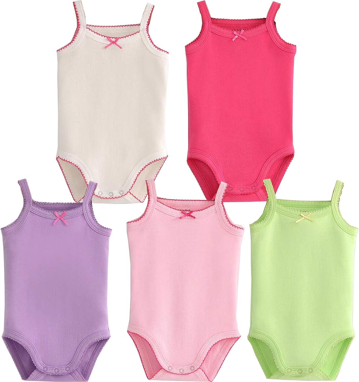 /ärmellos Unisex Baby Body 4er-Pack Baumwolle