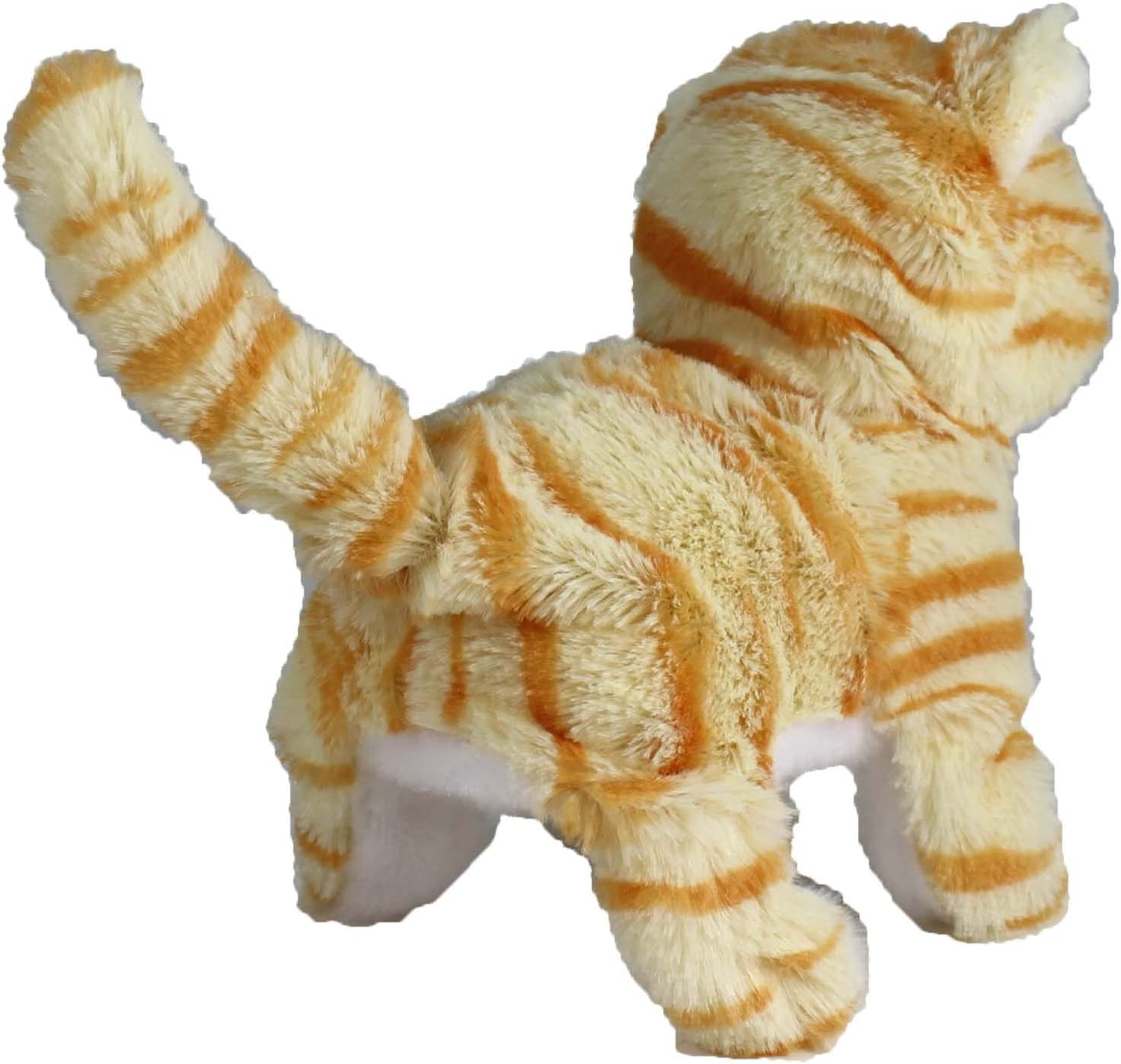 Orange Striped Casanova The Mechanical Kitten