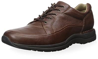 Rockport Men's Edge Hill Walking Shoe-Brown-8 W