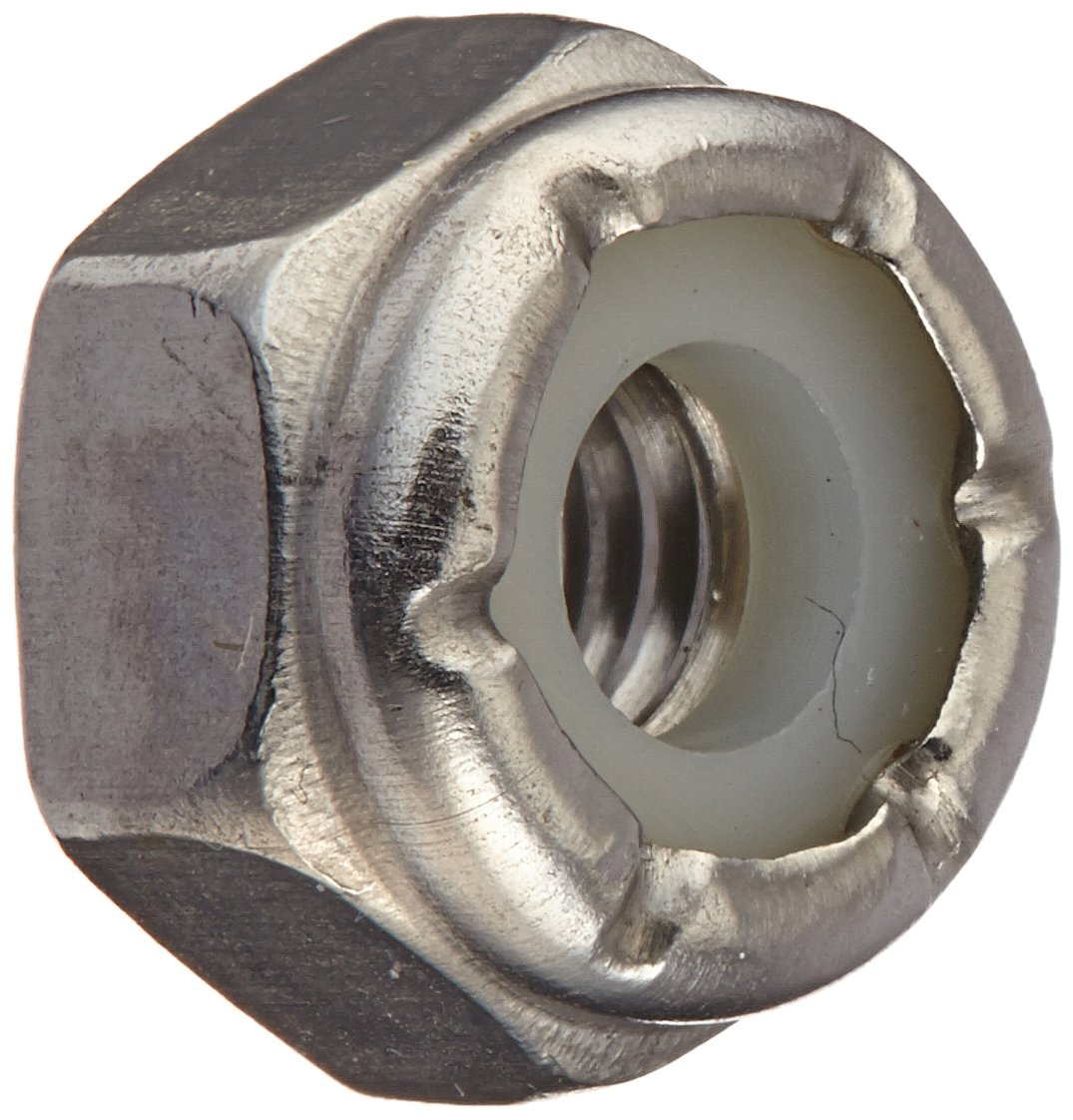 The Hillman Group 829754 10 by 32-Inch Stainless Steel Nylon Insert Locknut 100-Pack