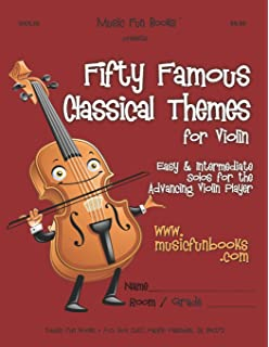 Amazon com: Easy Classical Violin Solos: Featuring music of Bach