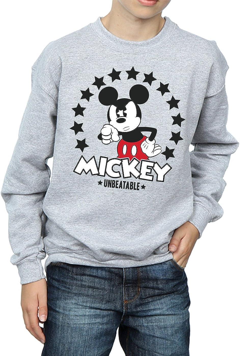 Disney ni/ños Mickey Mouse Unbeatable Camisa De Entrenamiento