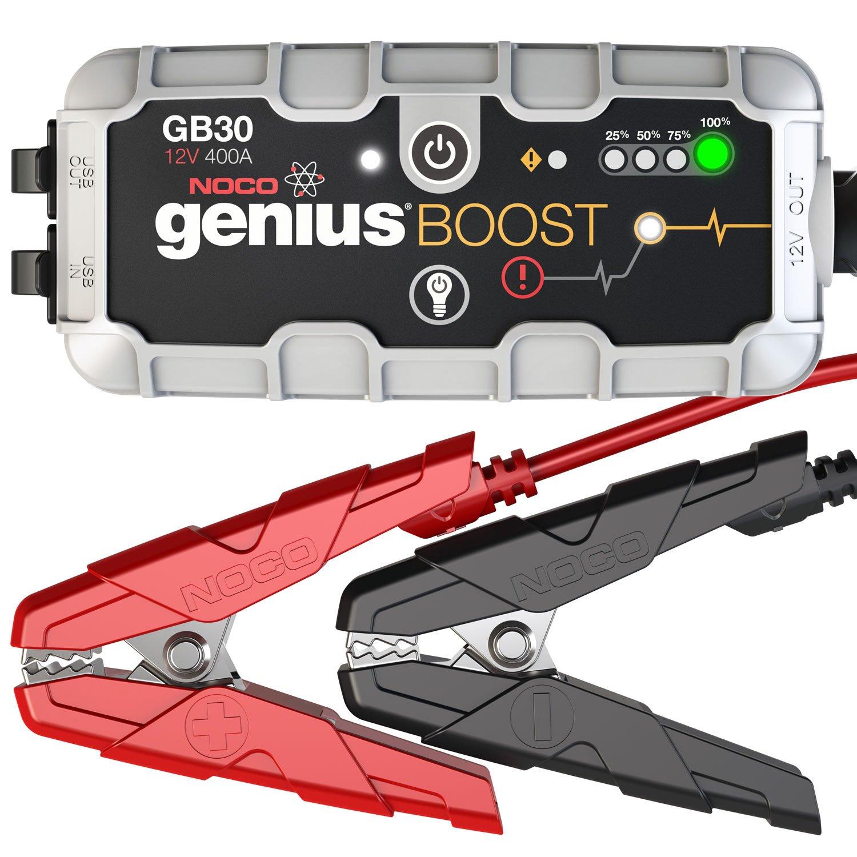 NOCO GB30 Genius Boost Plus Ultra Safe 12 V Lithium Starting Aid Device, 400 Amp