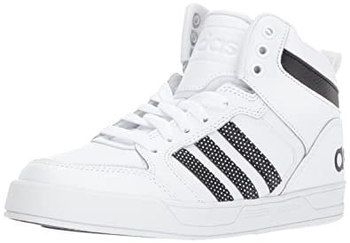 big sale 47986 1b4df adidas Boys  Raleigh 9TIS MID K Sneaker Black White, 2.5 M US Little