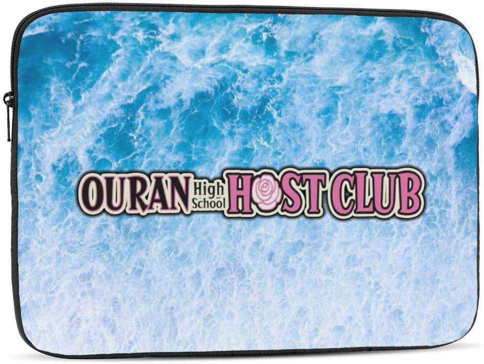 Ouran High School Host Club 17 inch Laptop Sleeve Case Protective Zipper Cover Carrying Computer Bag