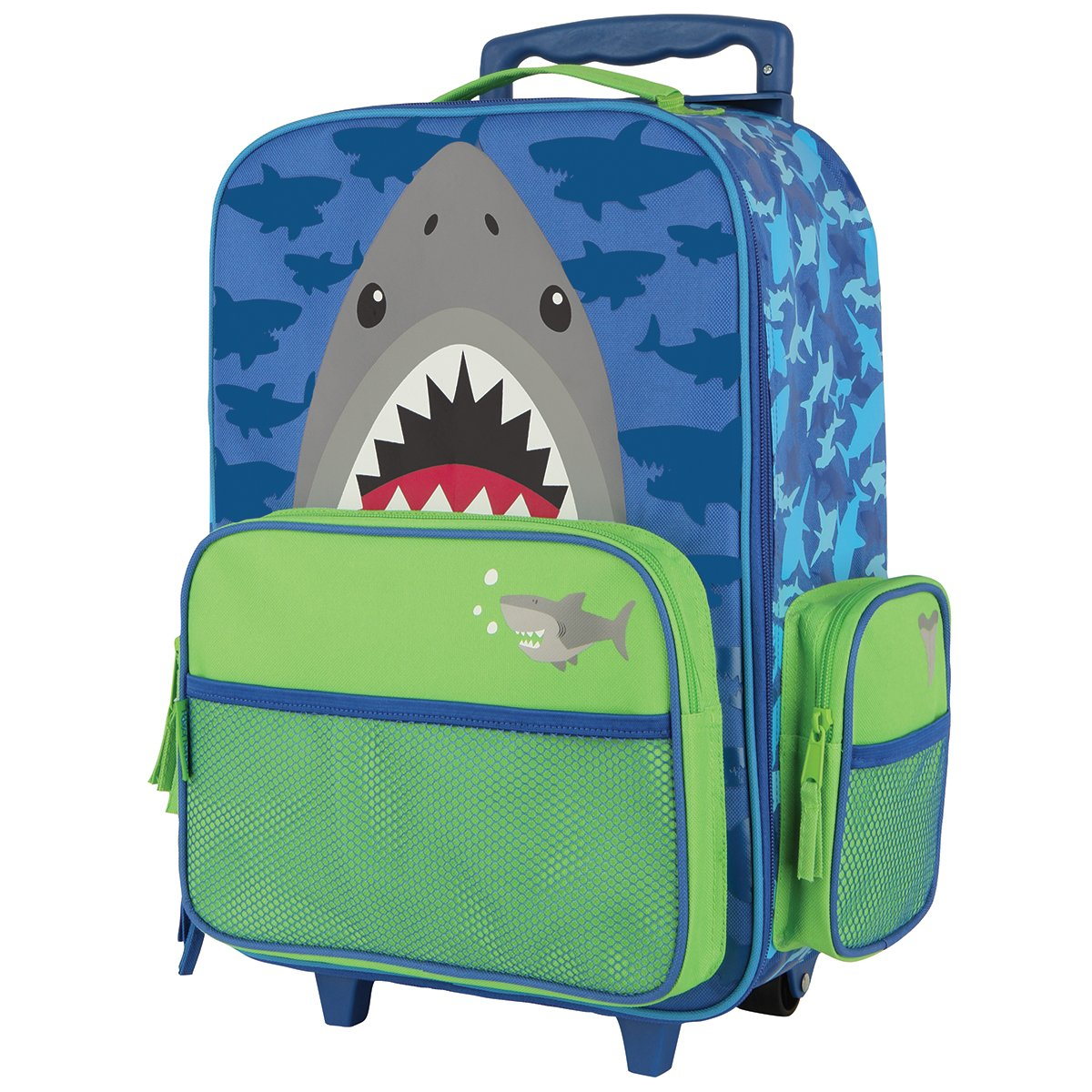 Stephen Joseph Boys' Shark Royal Blue/Green/Gray