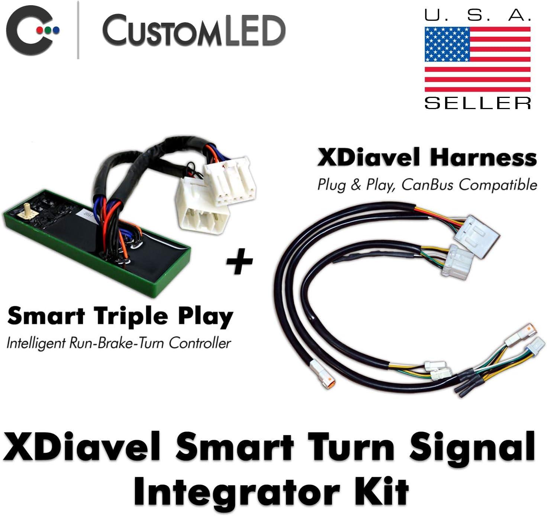 Smart Turn Signal Integrator Kit for Ducati XDiavel