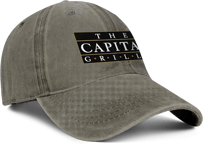 ChenBG Unisex Capital Grille Holdings Inc Logo Adjustble Baseball Cap Dad Cap All Cotton Trucker Hat
