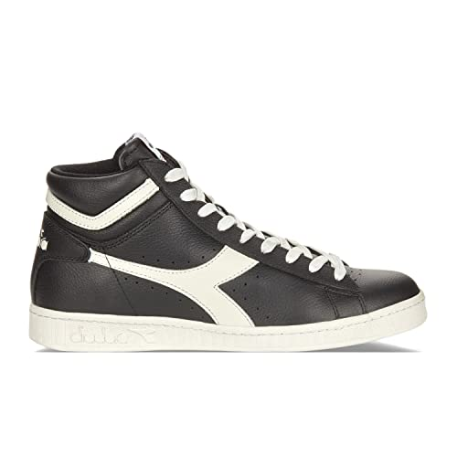 Diadora Game L High Waxed, Zapatillas Altas para Hombre, Negro (Nero/Bianco Nuvola), 43 EU