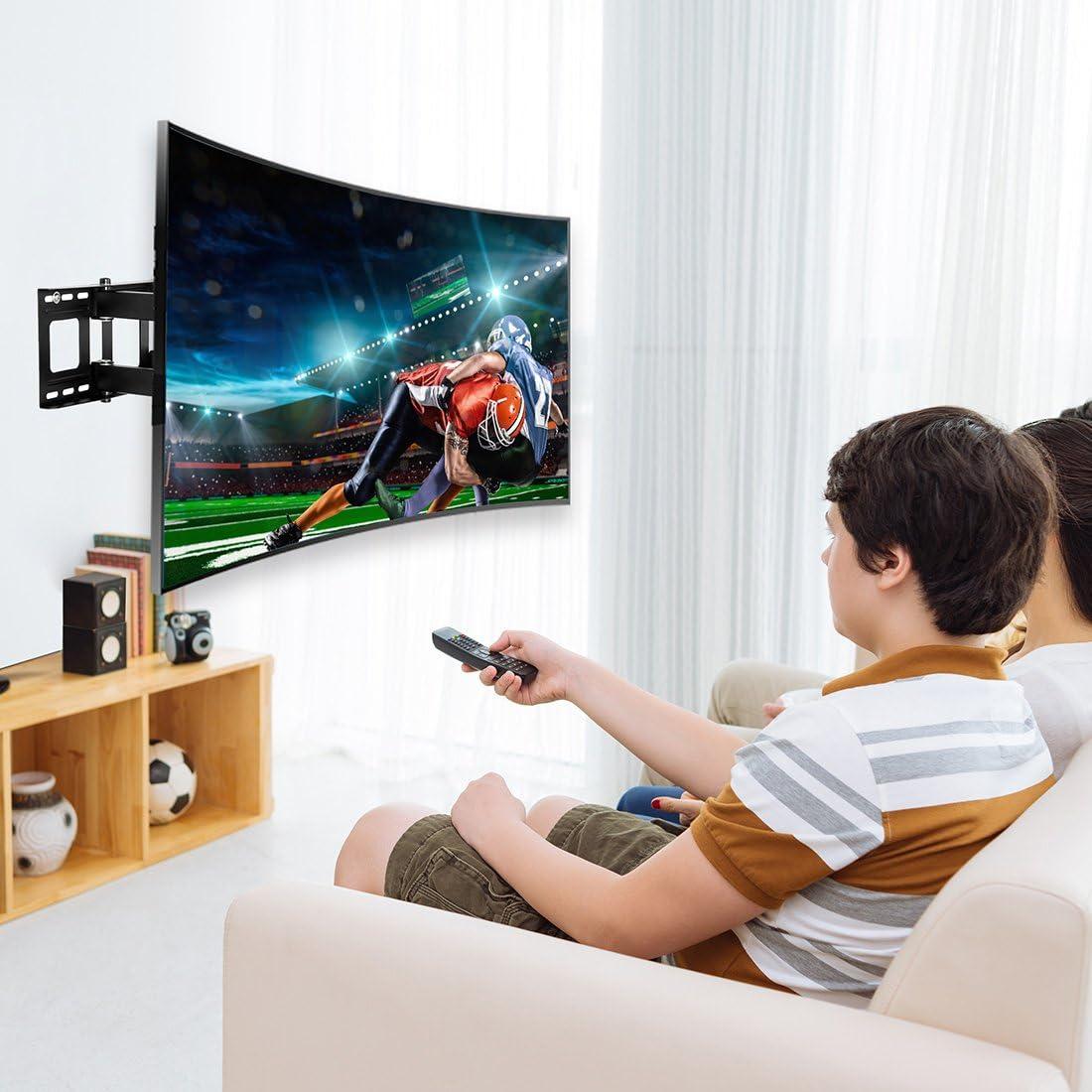 FLEXIMOUNTS CR1 Soporte de Pared para TV Curvo cuadra a televisor ...