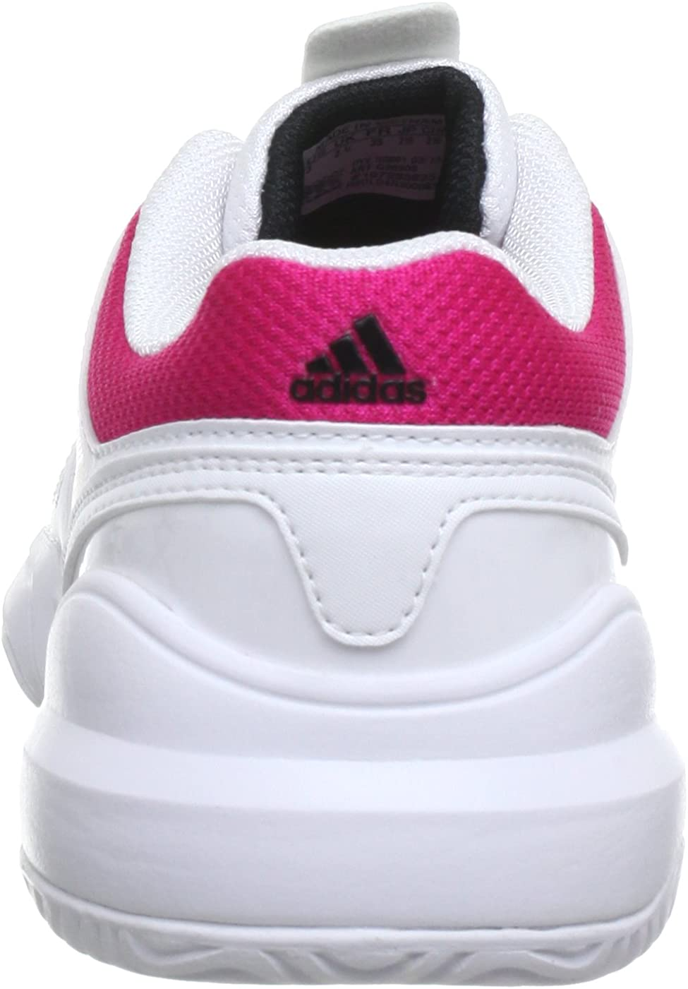 adidas Performance Galaxy Elite 2 K (Tennis), Zapatillas de Tenis Infantil, Blanco-Weiß (Running White FTW/Blast Pink F13 / Black 1), 37 1/3 EU: Amazon.es: Zapatos y complementos