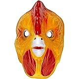 Masque de Coq Pour Enfant Poule Masque D'Animal Plastique Masque de Coq Masque Pour Enfant Animal Masque de Carnaval Déguisement D'Animal Accessoire