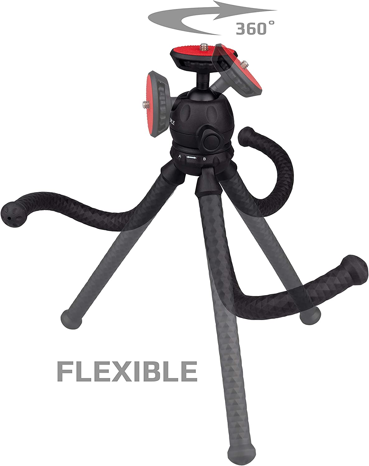 X-T30 Action Cam Monopod Stand for DSLR Compact Camera X-E3 Universal Travel Hand Held Grip Smartphone X-T100 X-T20 Mini Flexible Tripod compatible with FUJIFILM X-T3 X-T2