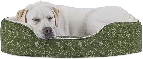 "Grey sherpa fleece /""Paw Print/"" dog bed fabric 64/"" wide"