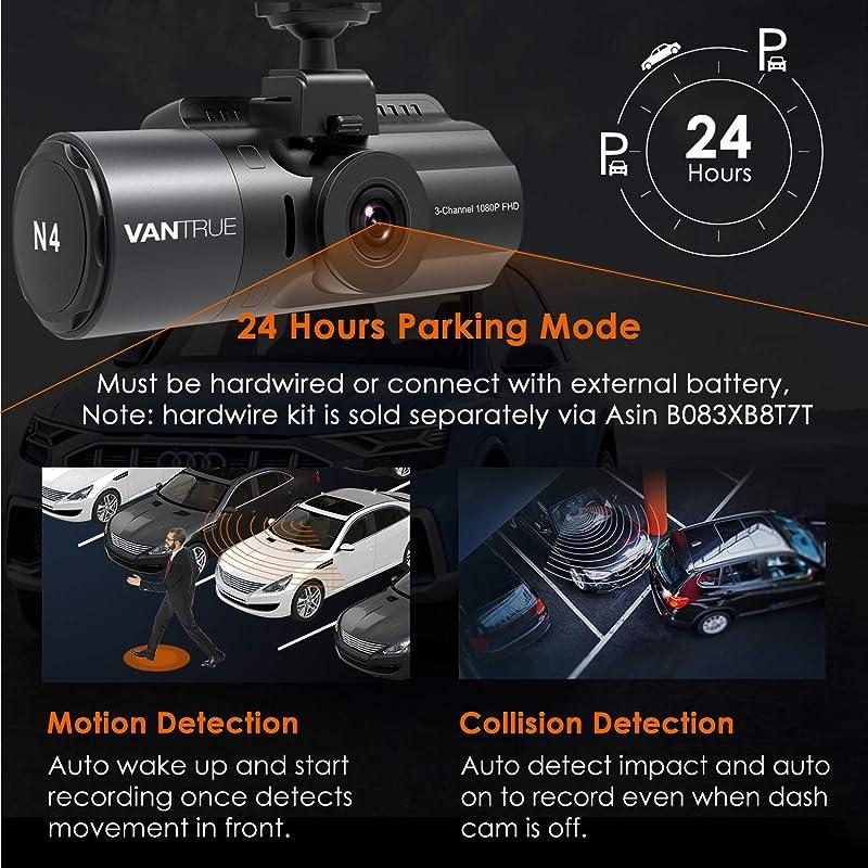 Vantrue N4 3 Channel Dash Cam 1