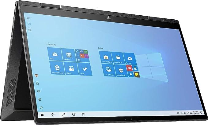 "Amazon.com: Newest HP Envy X360 2 in 1 15.6"" FHD Touchscreen Laptop, AMD 4th Gen 8-Core Ryzen 7 4700U (Beat i7-8550U), 16GB RAM, 1TB PCIe SSD, Backlit Keyboard, Fingerprint Reader, Windows 10: Computers & Accessories"