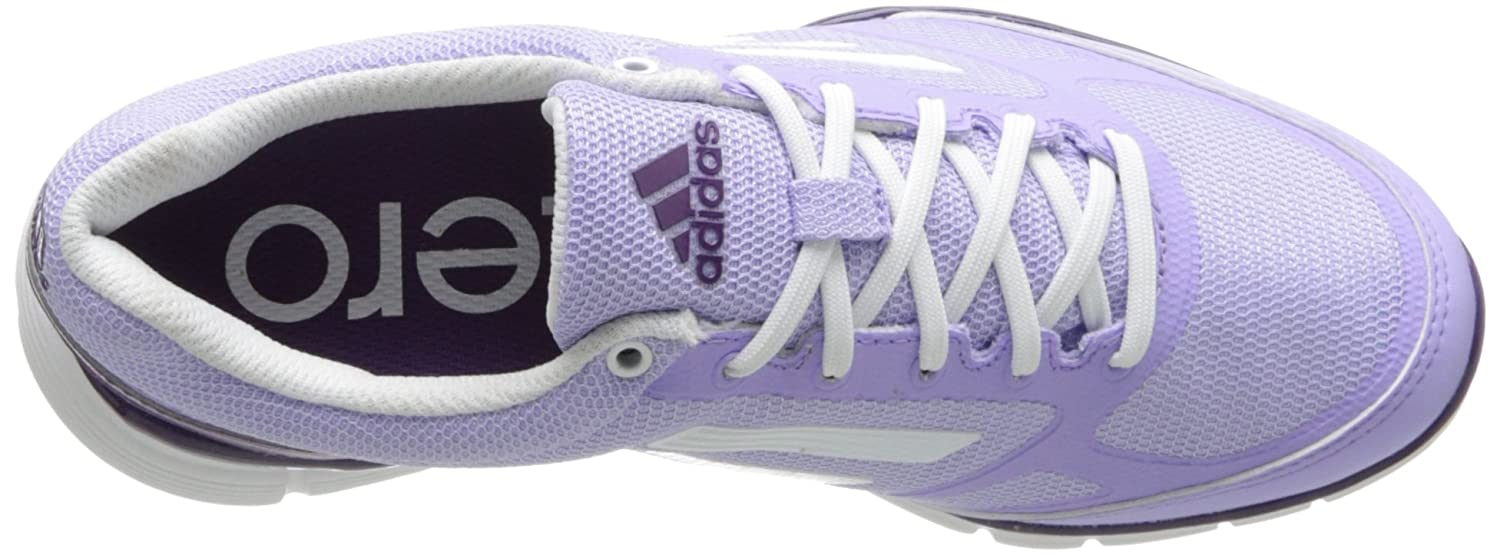 adidas Women's Adizero Sport II Golf Shoe B00EP07MKC 9.5 B(M) US|Glow Purple/Runnig White/Metallic Silver