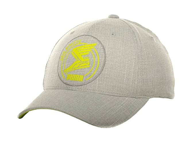 PUMA Applique Cap Mens Flexfit Hat at Amazon Men s Clothing store  dda5f7d4a02