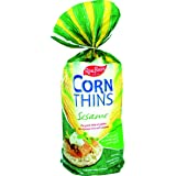 REAL FOODS CORN THIN SESAME ORG, 5.3 OZ (6 pack)