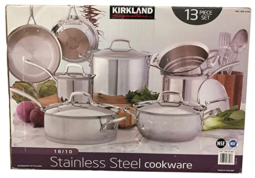 Kirkland SignatureTM 18/10 de acero inoxidable 13 piezas ...