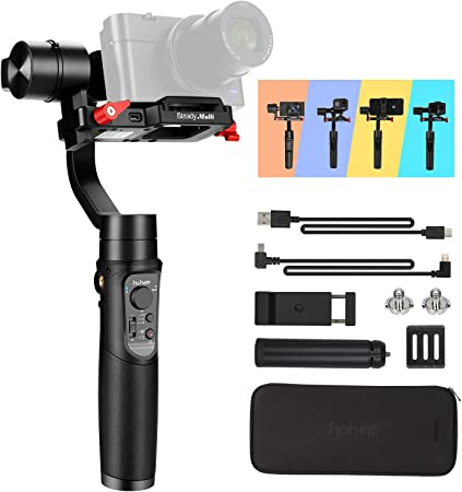 Foldable mini gimbal tripod clamp photography for wg2 g5 g6 spg stabilizer HMYY