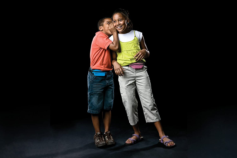 Spibelt Kids/ /Lime mit schwarzem Rei/ßverschluss /& Diabetiker Multimedia Loch