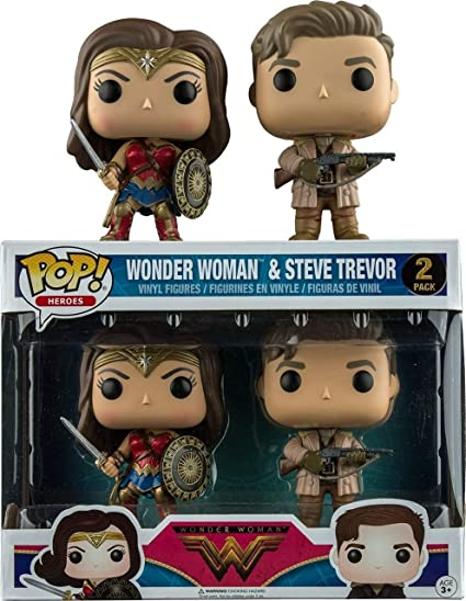 Heroes Wonder Woman Film Steve Trevor Vinyl Figure *** en stock *** Funko Pop