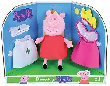 Jemini – Peppa Pig Peluche de Vestir a +/-20 cm, 023093,