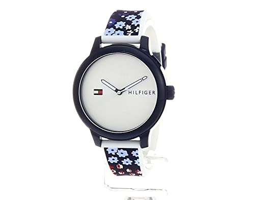 Amazon.com: Tommy Hilfiger Womens Everyday Sport Quartz Resin and Silicone Casual Watch, Color:Blue (Model: 1781778): Watches