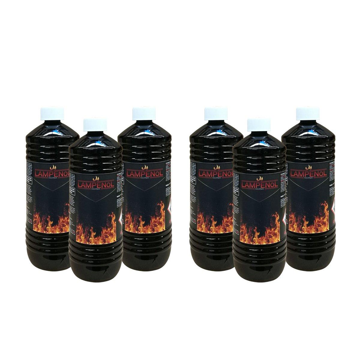 DXP Huile pour torche Deccor Torches torche de jardin bambou et le mur 6L