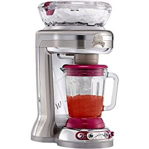 Margaritaville Fiji Premium Frozen Concoction Maker with Easy-Pour Glass Blending Jar and Auto or Manual Shave and Blend