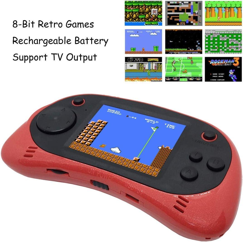WFGZQ Consolas De Juegos Portátiles, 260 Consolas De Juegos FC NES ...