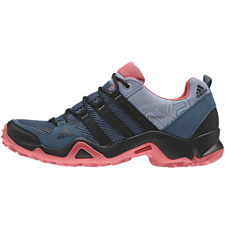 adidas outdoor Women's AX2 Hiking Shoe B0116AUSOA 6 M US|Prism Blue, Black, Super Blush