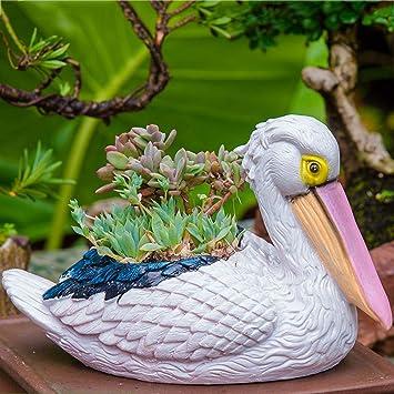 Figura Decorativa para jardín Estatua De Jardín De Resina Impermeable De Estatuilla De Animales Pequeños Para Regalo De Decoración De Césped De Jardín - (A B C D E) D:25 * 13 * 16cm: Amazon.es: Bricolaje y herramientas