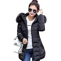 Rela Bota Women's Winter Warm Thickened Coats Long Down Parka Puffer Jacket Outwear