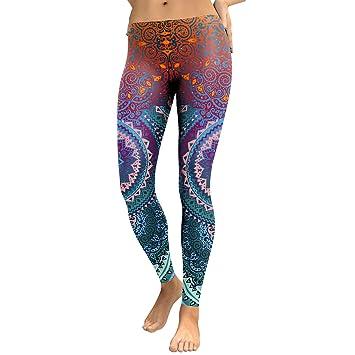 YUJIAGE Pantalones De Yoga 3D Ni CAI Calzas Apretadas De ...