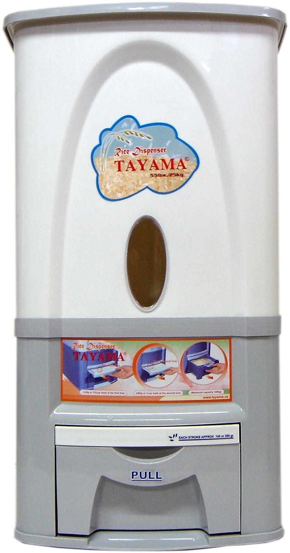 Amazon.com: Tayama 25kg Rice Dispenser: Food Dispensers: Kitchen U0026 Dining