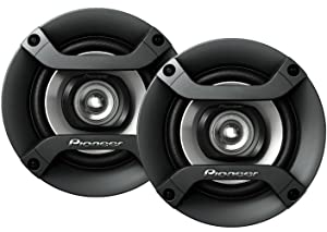 "Pioneer 4"" Speakers - 4-Inch, 150 Watt, Dual Cone 2-Way Speakers, Set of 2"